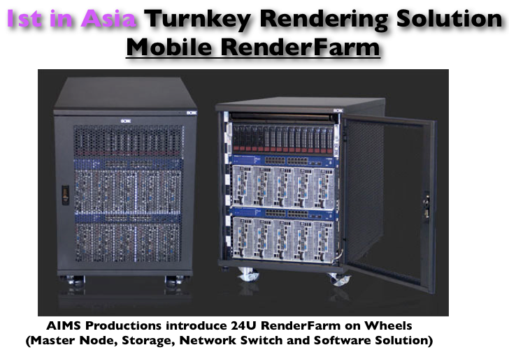 Mobile RenderFarm